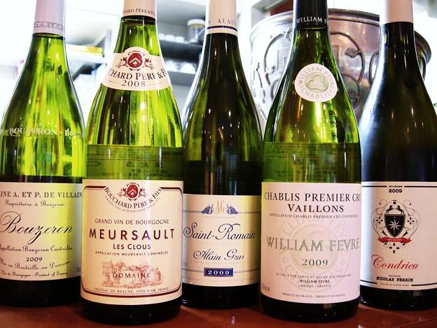 写真: Les vins récemment arrivés