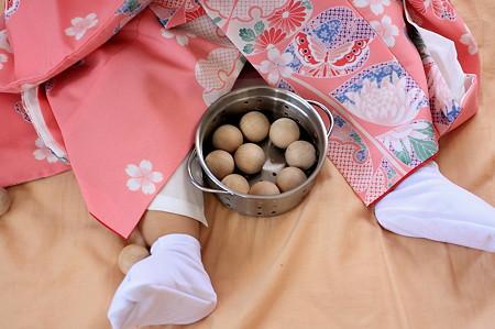 2011.12.26 部屋 お宮参り準備
