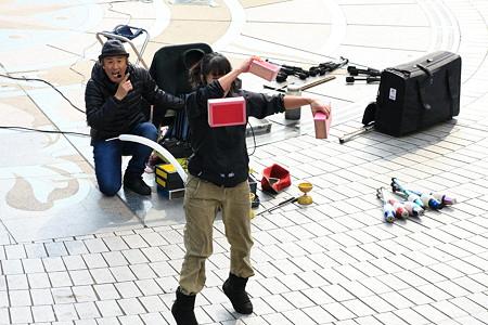 2012.03.03 みなとみらい ドックヤードガーデン 大道芸