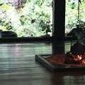 写真: 2012.06.18 三渓園 旧矢箆原家住宅 囲炉裏