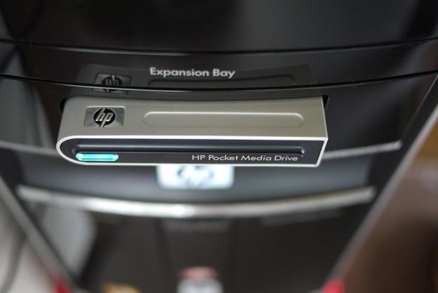 2011.09.14 机 HP Pocket Media Drive ♪Backup