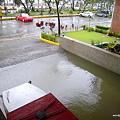 地下駐車場の水位 Water in the parking