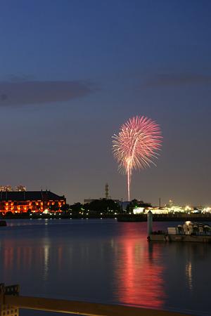 横浜の花火!、(110817)