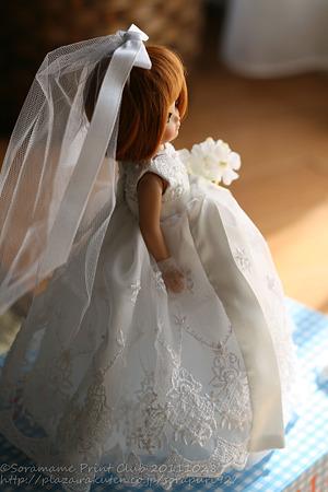 花嫁さんごっこのベチ