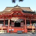110519-16四国中国地方ロングツーリング・日御碕神社・日沈宮拝殿
