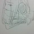 写真: 最近ボールペンで落書きする...