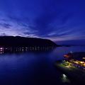 夕闇の上関海峡