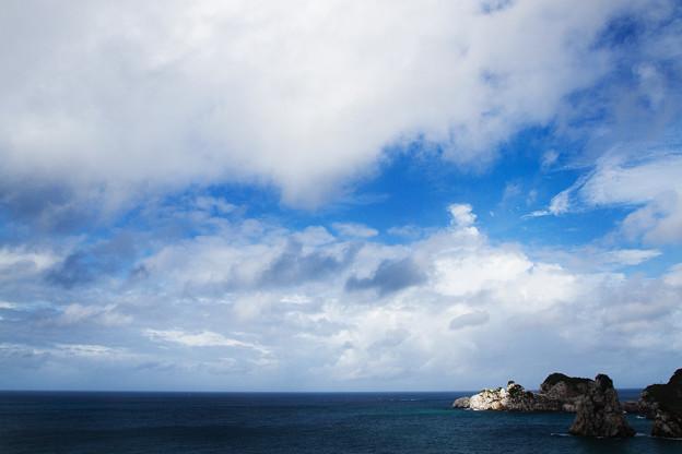 曇天の隙間