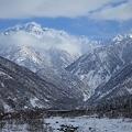 Photos: 雪深い伊折橋より