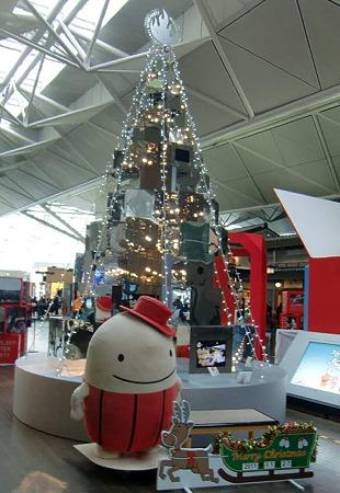 セントレアあったか☆クリスマス2011 開催中-231128-1