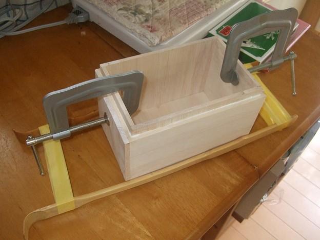 燗銅壺 ツーリング用BOXの製作