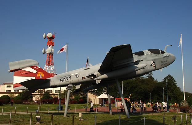 写真: EA-6B VAQ-136 GAUNTLETS