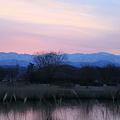 木場潟の夜明け