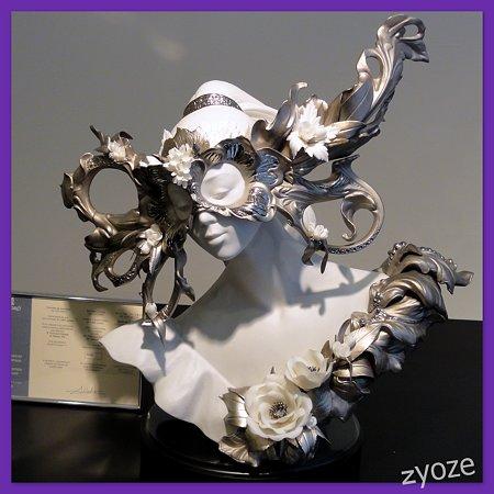 リヤドロプレミアム展・スペイン大使館・ベネチア仮面1-1