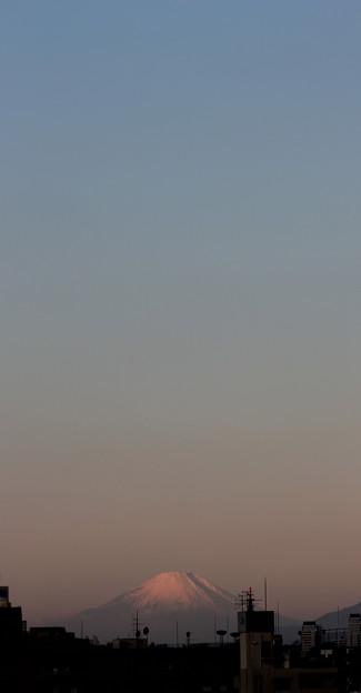 みそかの日の出富士 2011.12.30 7:17