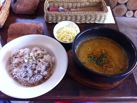 シェヌー キーマカレースープ