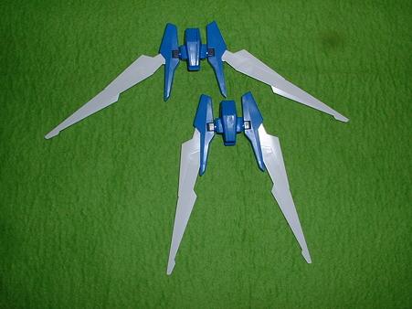 1月21日購入バンダイHG「ガンダム AGE-2 ノーマル」肩の羽  Doburoku-TAO