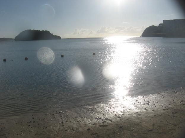 写真: ホテルのビーチです