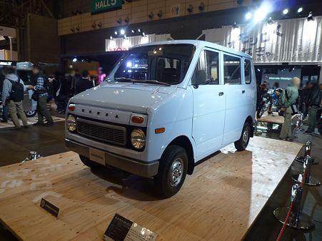TOKYO AUTO SALON 2012 LIFE STEP VAN